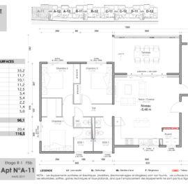 Résidence Mateata plan F5b