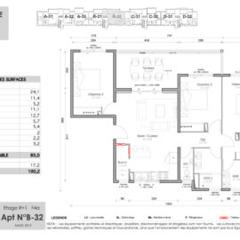 Résidence Mateata plan F4a