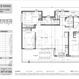 Residence Hana plan F4
